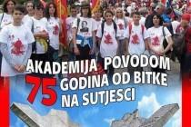 75. godišnjica Bitke na Sutjesci