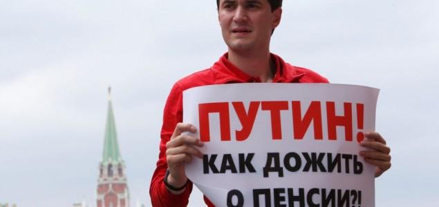 Rusija: Opozicioni lideri privedeni na protestu u Moskvi pušteni na slobodu