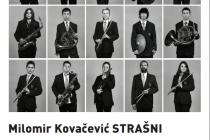 Večeras zatvaranje izložbe Milomira Kovačevića Strašnog u Zvonu