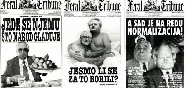 The Turbulent Times of Croatia's 'Feral Tribune'
