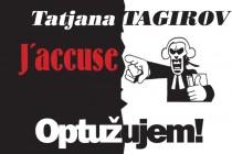 "Promocija knjige Tatjane Tagirov ""J'accuse! Optužujem!"""