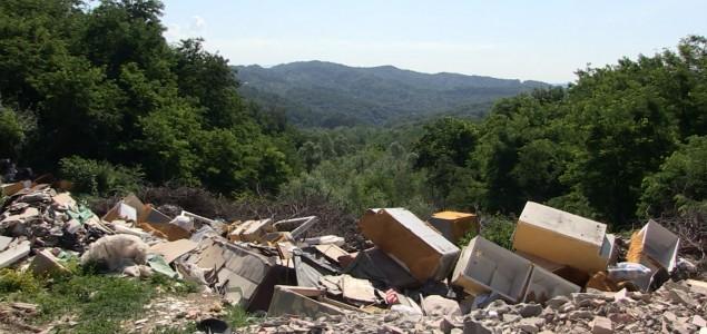 Deponije iznad Tuzle ugrožavaju građane: Od mirisa uginulih životinja i otpada ne možemo disati
