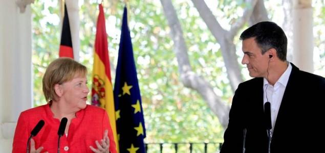 Merkel i Sanchez za pravedniju raspodjelu migranata