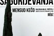 """Samostalna izložba skulptura iz ciklusa """"SAGORIJEVANJA"""" autora Mensuda Keče"""