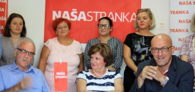 Naša stranka Tuzla:Naš mandat obilježit će stručnost, kompetentnost i odgovornost