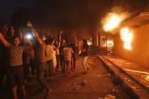 Demonstranti zapalili iranski konzulat u Iraku