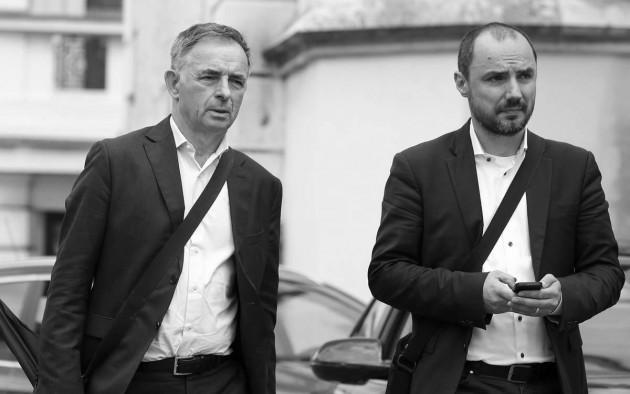 Milorad Pupovac i Boris Milošević - Foto: Patrik Macek/PIXSELL