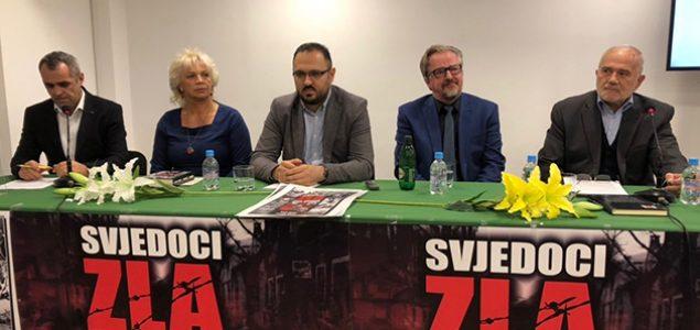 """U Mostaru predstavljena knjiga """"Svjedoci zla"""""""