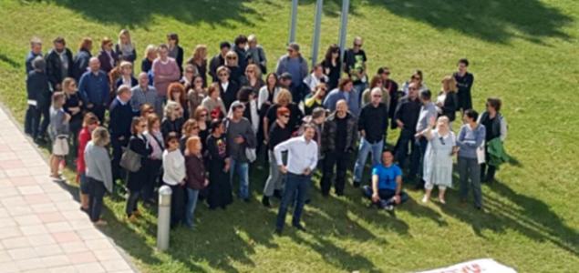 Protiv političke kontrole medija: Uz petominutni protest novinara na HRT-u