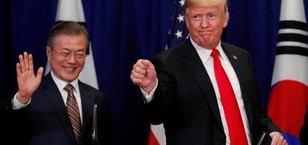 Trump: Južna Koreja neće Sjevernoj ukinuti sankcije bez odobrenja SAD-a