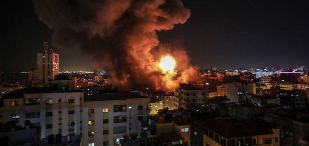 U izraelskim zračnim udarima ubijena četiri Palestinca