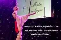 IX koncert 'Balet Mostar Arabesque' u četvrtak u Mostaru