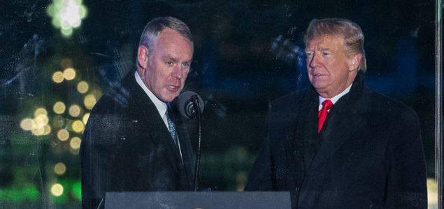 Trump najavio odlazak ministra unutrašnjih poslova SAD-a