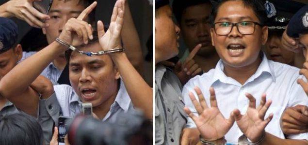 Odbijena žalba dvojice novinara zatvorenih u Mijanmaru