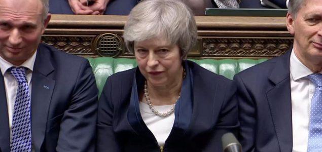 Britanski parlament odbacio predlog Tereze Mej o Bregzitu