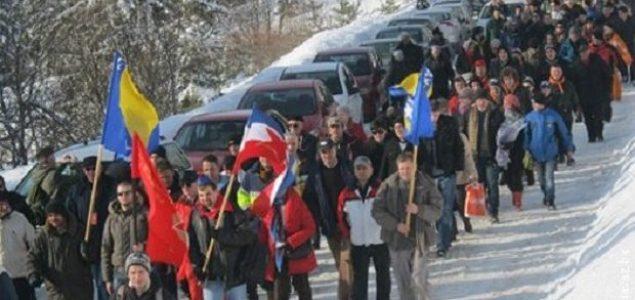 Na obilježavanju 77. godišnjice 'Igmanskog marša' 15.000 antifašista iz regije