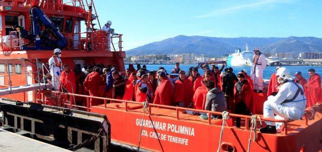 U Španiji u dva dana spašeno više od 400 migranata