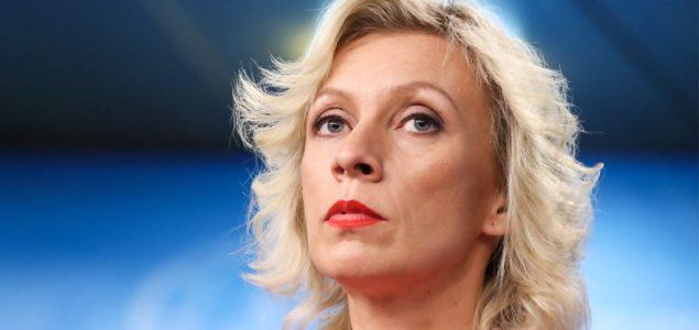 Zaharova: Rusija zadržava pravo na kontramere