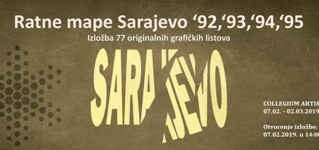 Collegium artisticum: Izložba MAPE GRAFIKA-SARAJEVO '92, '93, '94. i '95