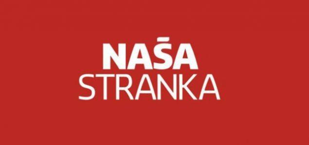 Predsjedništvo Naše stranke: Prisustvo stranih sudija potrebno do ulaska BiH u EU i NATO