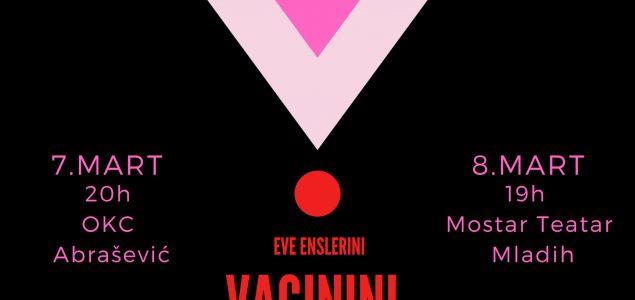 Vaginini monolozi 7 i 8 marta u Mostaru