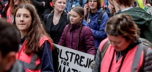 Mladi svijeta u petak na ulicama za klimu