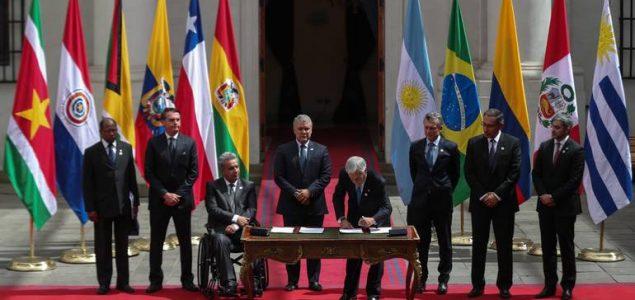 Južnoameričke države oformile novi savez Prosur