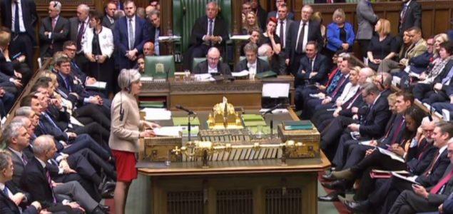 Britanski poslanici glasali protiv Bregzita bez sporazuma