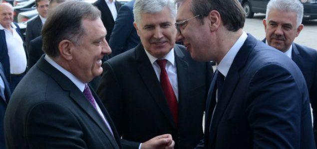 Sastanak Čović – Vučić: Kontinuitet ravnoteže interesa i moći ratnih mafijaških klanova na Balkanu