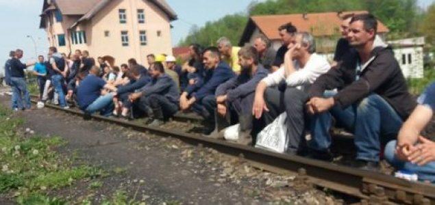 Treći dan štrajka u Banovićima: Rudari odlučni u svojoj namjeri