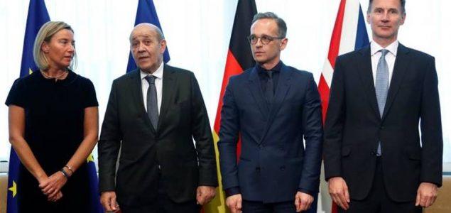 Evropski lideri odbacili američki pristup prema Iranu