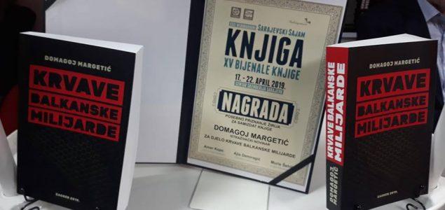 """Predstavljanje knjige Domagoja Margetića """"Krvave balkanske milijarde"""" u Mostaru"""
