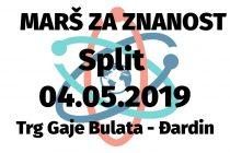 'MARŠ ZA ZNANOST' u Splitu
