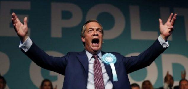 Brexit stranka apsolutni pobjednik izbora za Evropski parlament u Velikoj Britaniji
