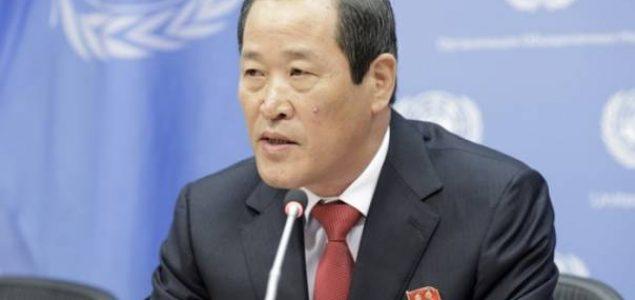 Sjeverna Koreja upozorava SAD da razmotri posljedice oduzimanja broda