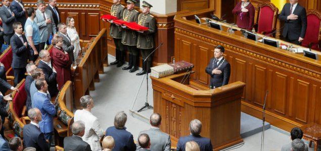 Parlament odbio prijedlog Zelenskog o promjeni izbornog sistema