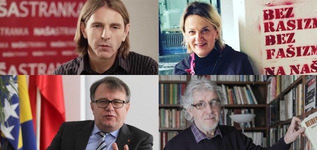 Esad Bajtal, Adisa Busuladžić, Nermin Nikšić i Predrag Kojović: Haške presude su svetinja, kazniti one koji ih negiraju
