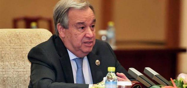 Guterres: Zbog podjela i dalje će biti ratova