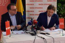 NS i SDPBiH potpisali Sporazum o osnivanju BH bloka