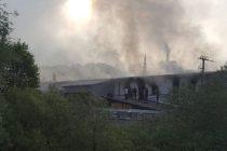 Izbio požar u prihvatnom centru za migrante u Velikoj Kladuši