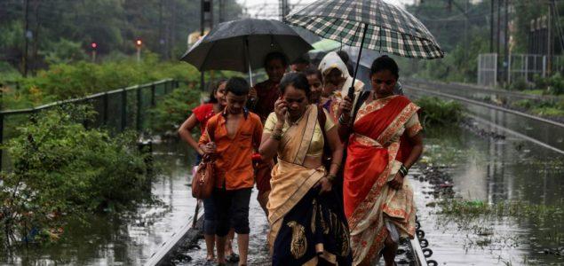 Mumbaj pogodila najsnažnija kiša u deceniji