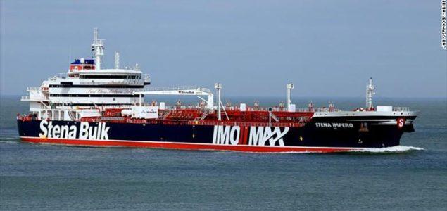 """Velika Britanija upozorila na """"ozbiljne posljedice"""" ako Iran ne oslobodi njihov naftni tanker"""