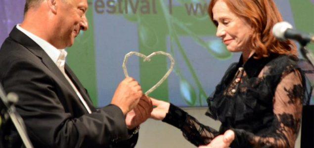 Počasno Srce Sarajeva dodijeljeno Isabelli Huppert