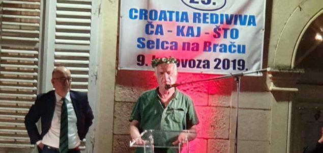 Mile Stojić laureat festivala Croatia rediviva