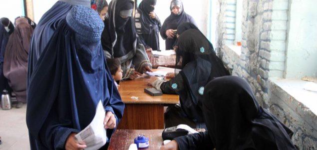 Avganistanke zabrinute zbog uvođenja biometrijskog sistema identifikacije na izborima