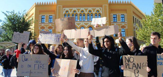 Štrajk protiv klimatskih promjena održan i u BiH