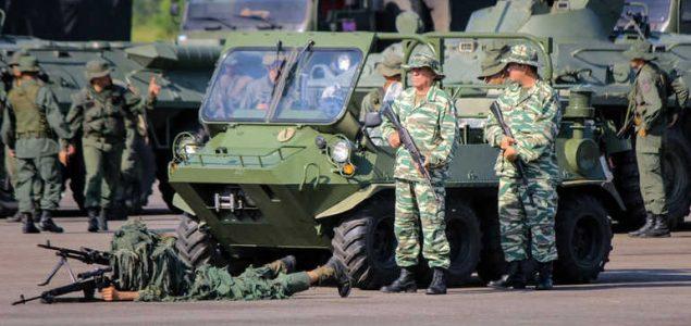 Venecuela počela vojnu vježbu na granici s Kolumbijom