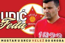 Feđa Dudić heroj Mostara: Zdravko Grebo je bio u pravu, Velež je više od života