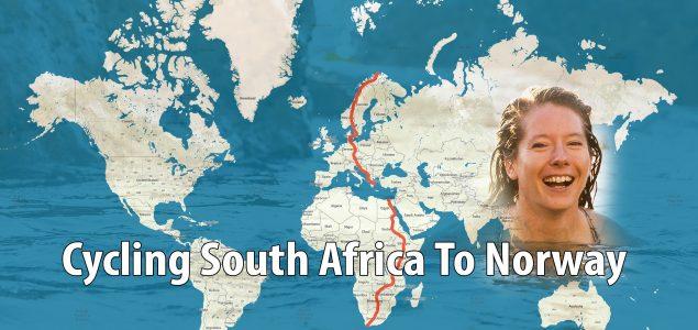 Norvežanka koja putuje biciklom od južne Afrike do Norveške zbog klimatskih promjena dolazi u BiH