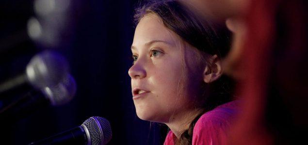 Greta Tunberg kao anti-Tramp